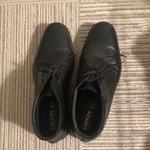 Men's Geox leather shoes